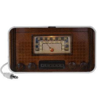 Vintage Radio 2 Notebook Speaker