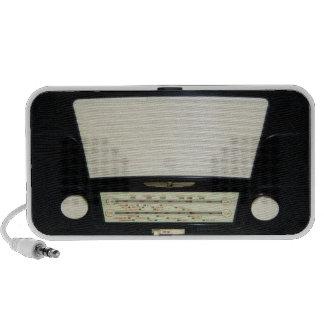 Vintage Radio - Black & White Bakelite Travelling Speaker