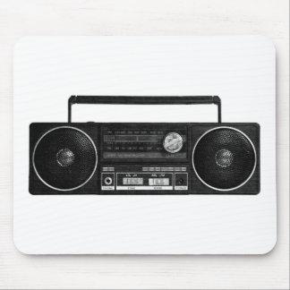 Vintage Radio Design Mouse Pad