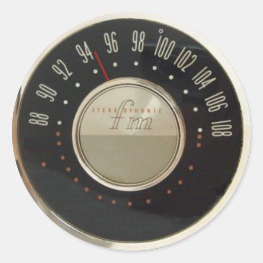 Vintage Radio Dial 118