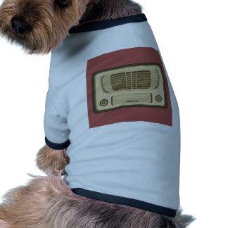 Vintage Radio Doggie Tee Shirt