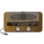 Vintage Radio Doodle Speaker