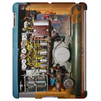 Vintage Radio in Blue 2 - iPad Case