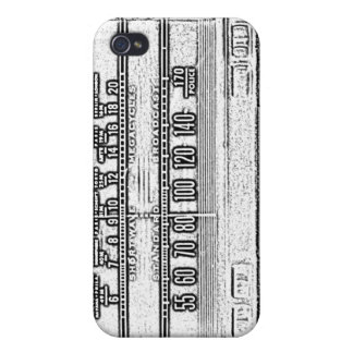 Vintage Radio Covers For iPhone 4