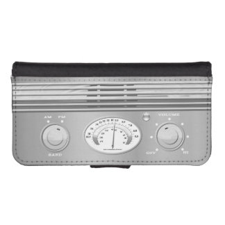 Vintage Radio iPhone SE/5/5s Wallet