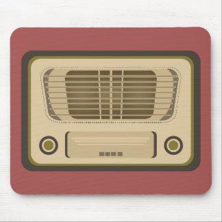 Vintage Radio Mouse Pad