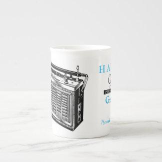 Vintage Radio personalized 90th Birthday Mug