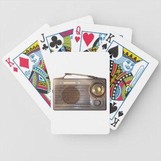 Vintage Radio Deck Of Cards