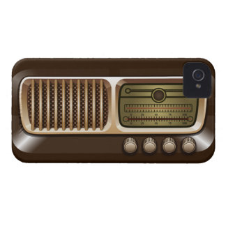 Vintage Radio Receiver iPhone Case iPhone 4 Cases