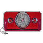 Vintage Radio - Red Portable Speakers