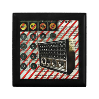 vintage radio retro electronics fashion keepsake box