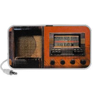 Vintage Radio Portable Speakers