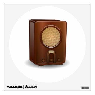 Vintage Radio Wall Sticker
