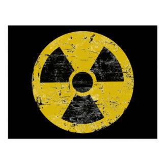 Vintage Radioactive Postcard