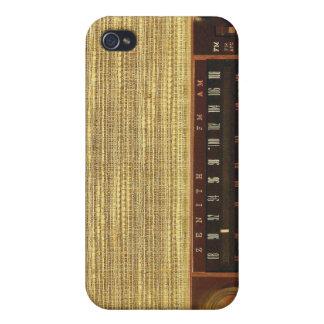 Vintage Radios in Wood iPhone 4 Covers
