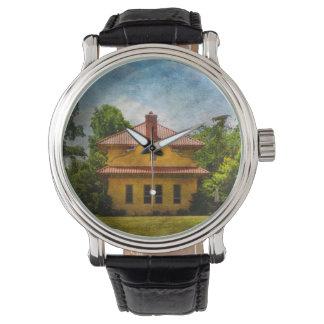 Vintage Rail Station Designer Watch