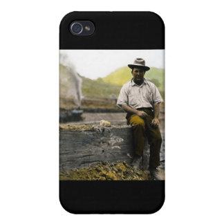 Vintage Railroad Hobo iPhone 4/4S Case