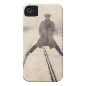 Vintage Railroad Photo c 1920s iPhone 4 Case