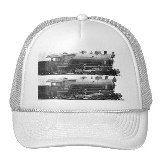 Vintage Railroad Photograph Bookmark Trucker Hat