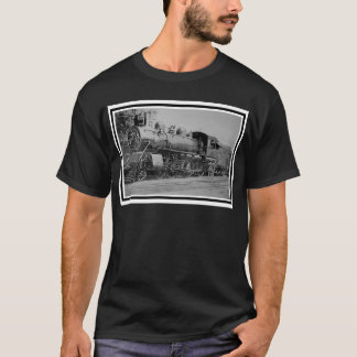 Vintage Railroad Steam Engine Train T-Shirt