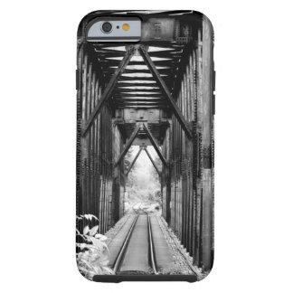 Vintage Railroad Track Bridge Tough iPhone 6 Case
