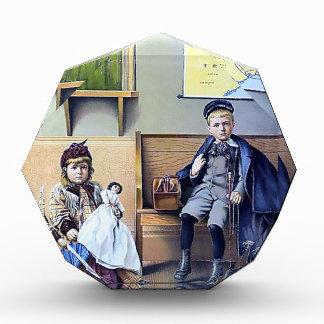 Vintage Railroad Train Station Girl Boy Children Award