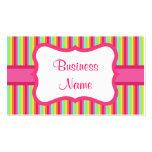 Vintage Rainbow Business Card