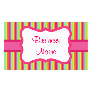 Vintage Rainbow Business Card