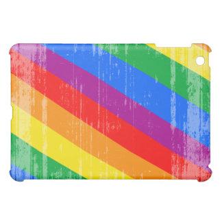 Vintage Rainbow Stripes Cover For The iPad Mini
