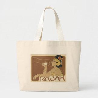 Vintage Rajah Coffee Ad - Bag