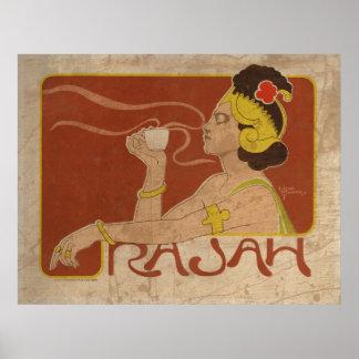 Vintage Rajah Posters