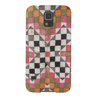 Vintage Ralli Quilt Orange Case For Galaxy S5