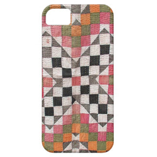 Vintage Ralli Quilt Orange iPhone SE/5/5s Case