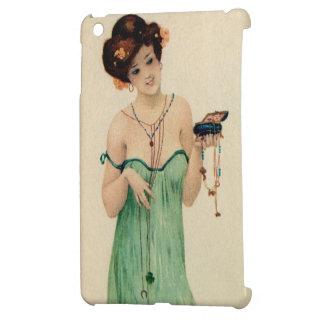 Vintage Raphael Kirchner Paris 1910 ladies fashion iPad Mini Cover
