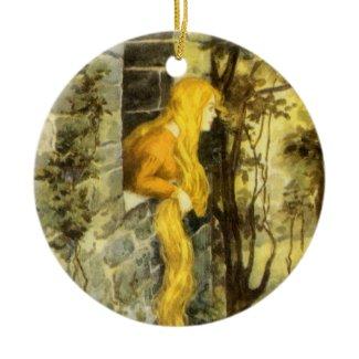 Vintage Rapunzel ornament