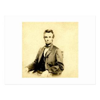 VINTAGE RARO de presidente Abraham Lincoln Tarjetas Postales