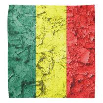 Vintage rasta flag bandana