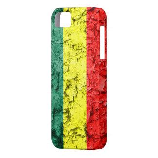 Vintage rasta flag iPhone 5 case
