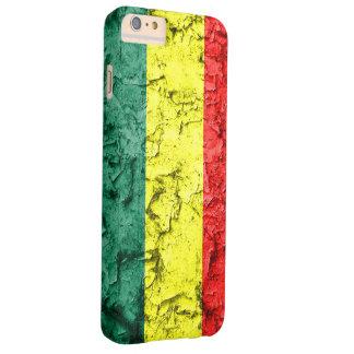 Vintage rasta flag iPhone 6 plus case
