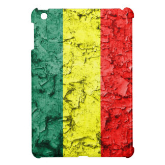 Vintage rasta flag iPad mini case