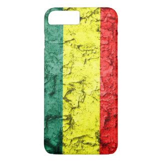 Vintage rasta flag iPhone 7 plus case