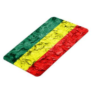 Vintage rasta flag magnet