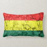 Vintage rasta flag pillows