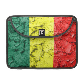 Vintage rasta flag sleeve for MacBook pro