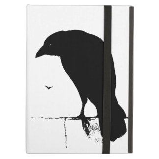 Vintage Raven - Customized Goth Crows Ravens Case For iPad Air