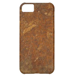VINTAGE RAW Leather Art Cover For iPhone 5C