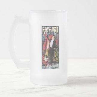 Vintage Raymond el gran poster de la publicidad Taza De Cristal