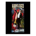 Vintage Raymond the Great Advertising Poster Postcard