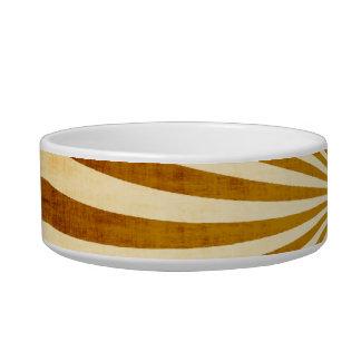 Vintage Rays Design Bowl