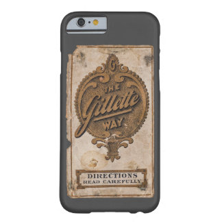 vintage razor ad barely there iPhone 6 case